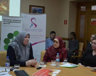 Мусульманки на круглому столі у Львові