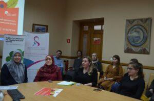Делегатки ЛМУ на круглому столі «Роль жінки у збереженні релігійної ідентичности» у Львові