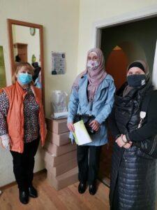 «Ні!» домашньому насильству: мусульманки налагоджують співпрацю з центрами допомоги