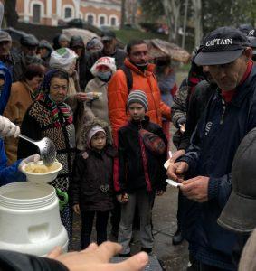 Понад два роки триває акція «Нагодуй нужденного»