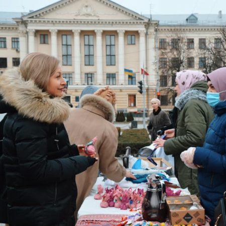 den hijaba v Zaporozhie